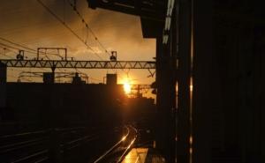 [試] 試行錯誤ライフハック写真館 | 写真紹介: 駅の夕焼け